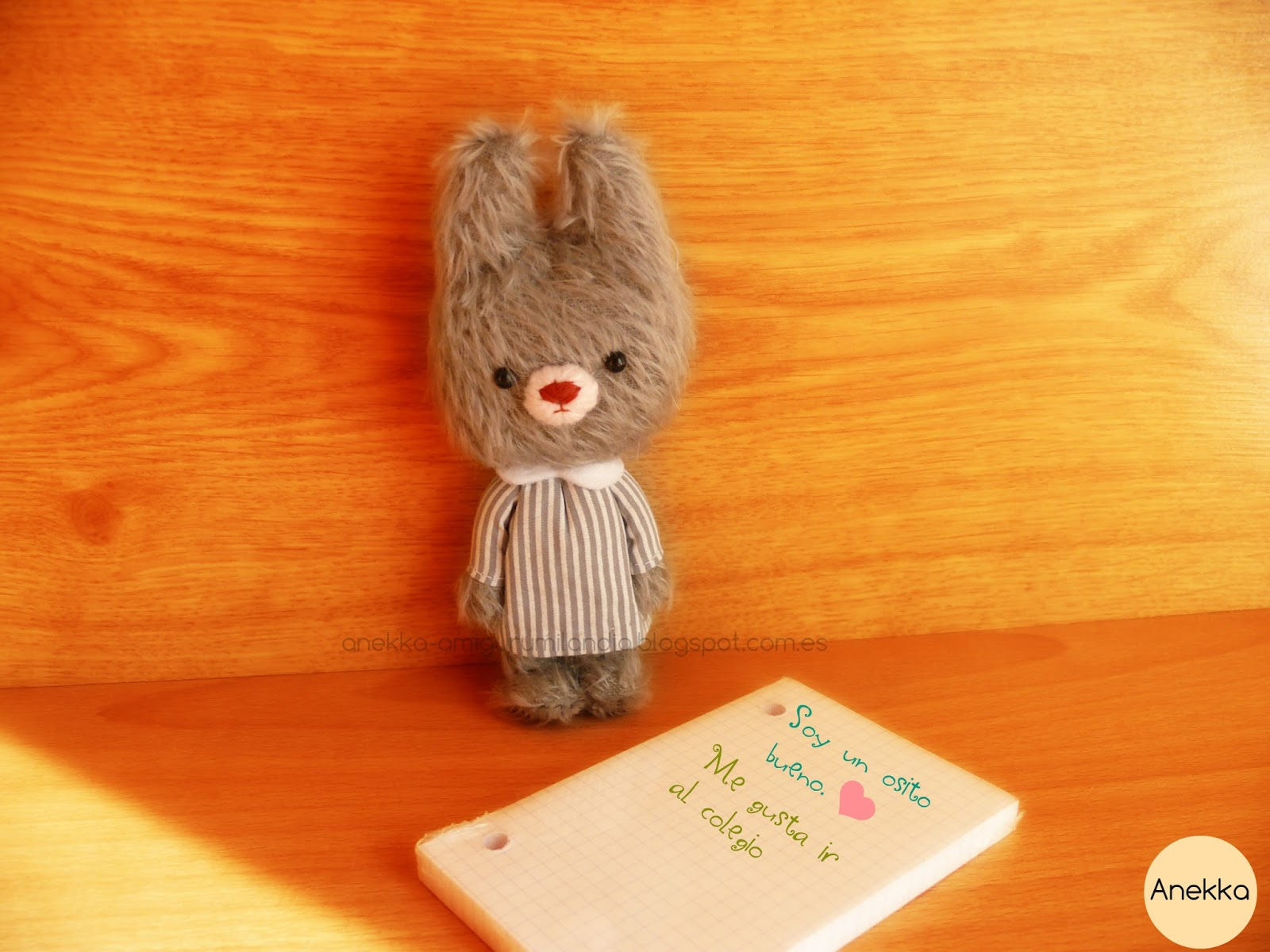 artist bear anekka handmade