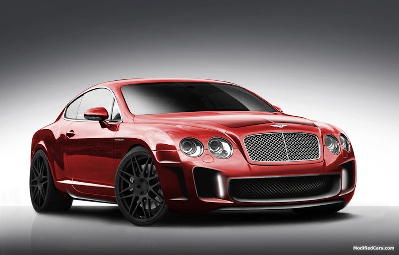 Modified Bentley Continental GT