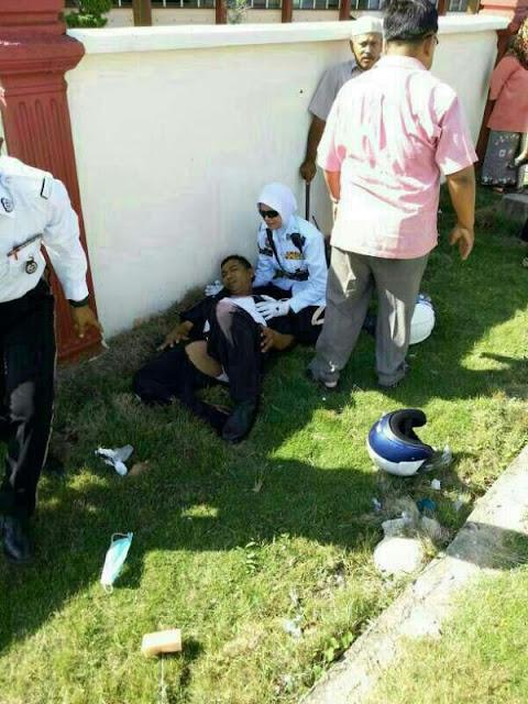 Polis kemalangan teruk
