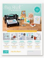 Stampin' Up! Big Shot Promotion!!