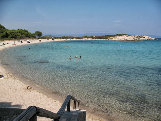 Beach in Vourvourou