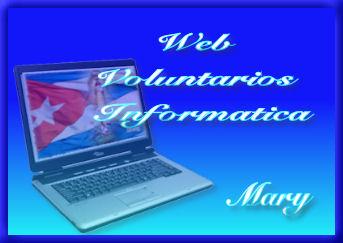 WEB voluntarios