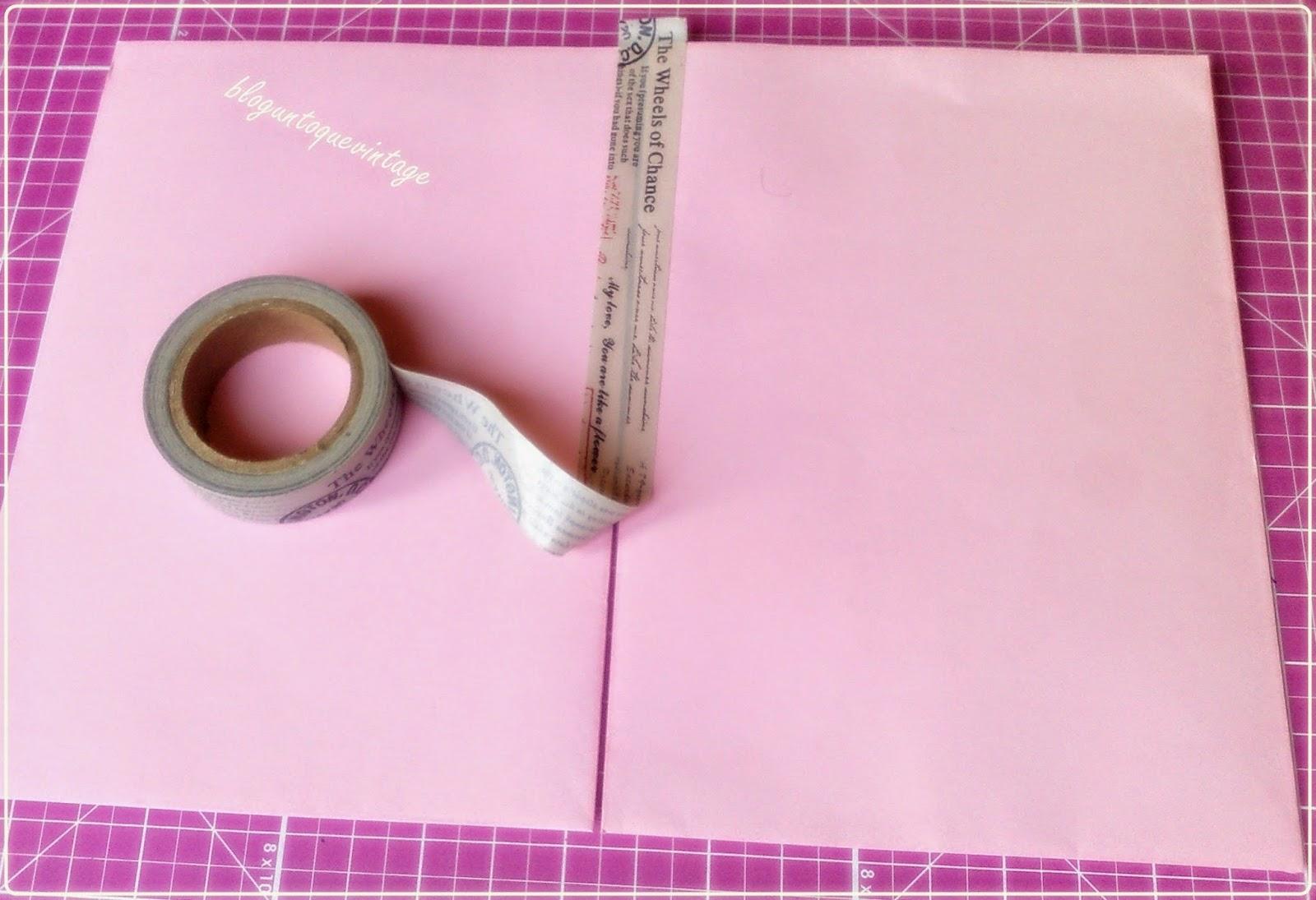 Un toque vintage scrapbook como hacer un mini album con - Como hacer un album scrapbook ...