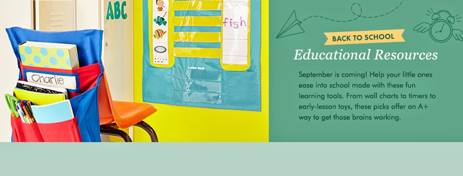 back to school deals at Zulily