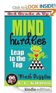 Free eBook Feature: Mind Hurdles: Leap To The Top (Math Puzzles) by LL Kross