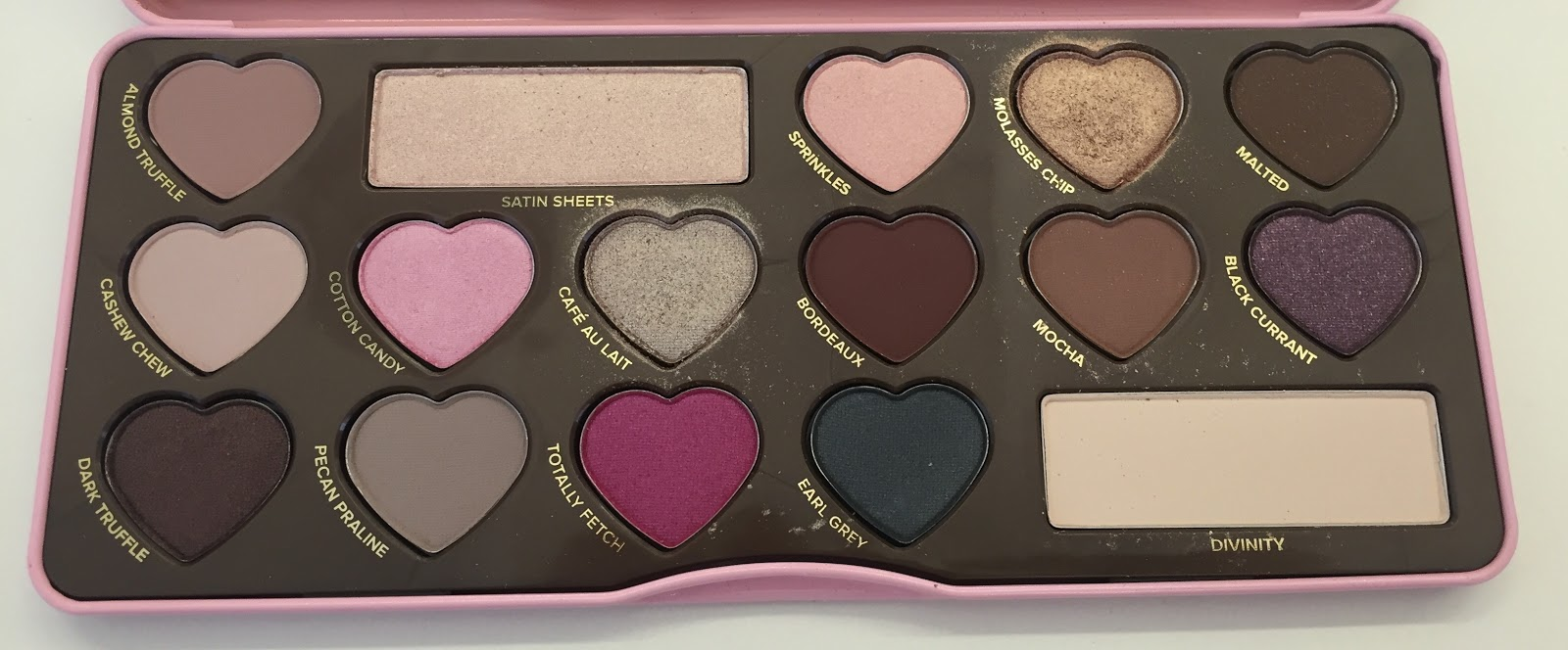 The Beauty of Life: On Wednesdays We Wear Pink: Too Faced ...