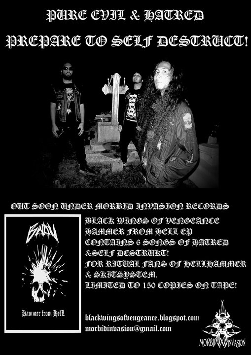 Diabolical Demon Director Rehearsal In A Grave