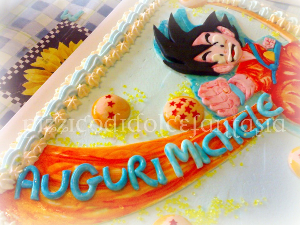 Pizzico di dolce fantasia torta dragon ball