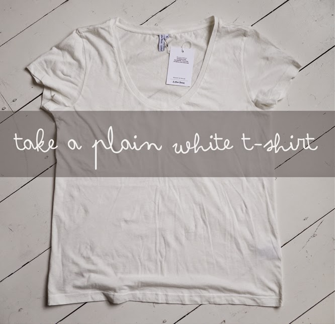 making your own graphic print t-shirt by Alexis at www.somethingimade.co.uk