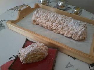 Recette Biscuit roulé au citron, meringué réalisé par Fatiha Bouameur