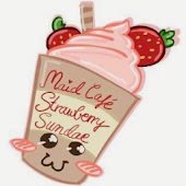 Maid Cafe Strawberry sundae