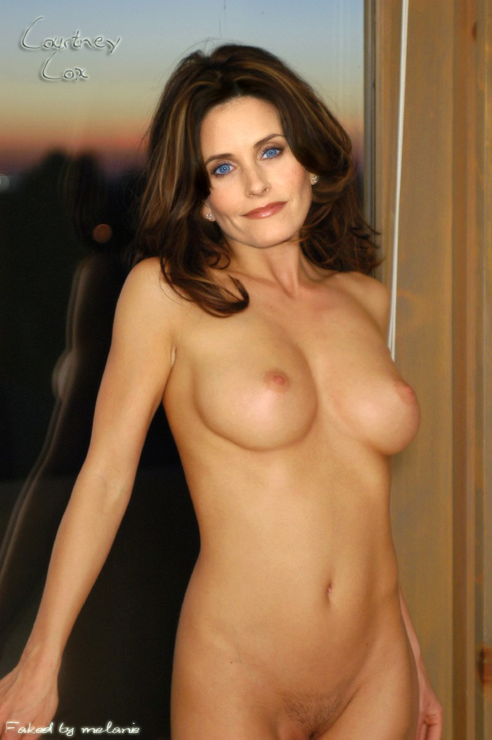 Your Courtney cox nude fakes porn