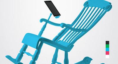 iRocks, Bangku Goyang Untuk Isi Batere Smartphone