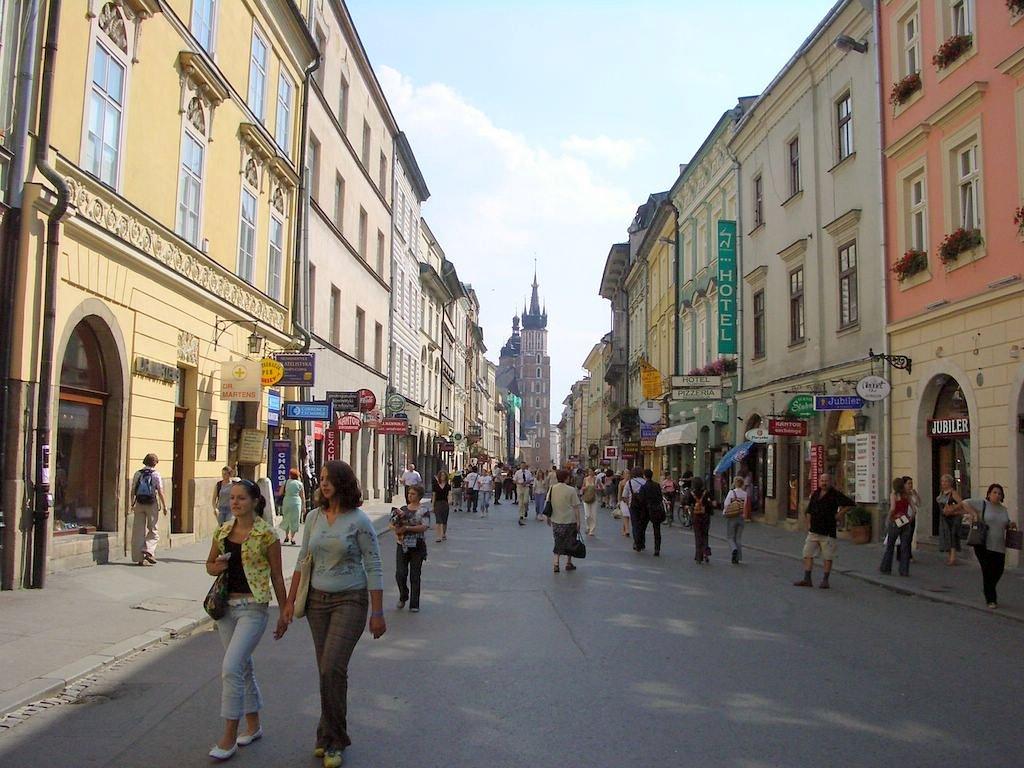 Krakow Poland  city photos : Florianska Street Krakow, Poland
