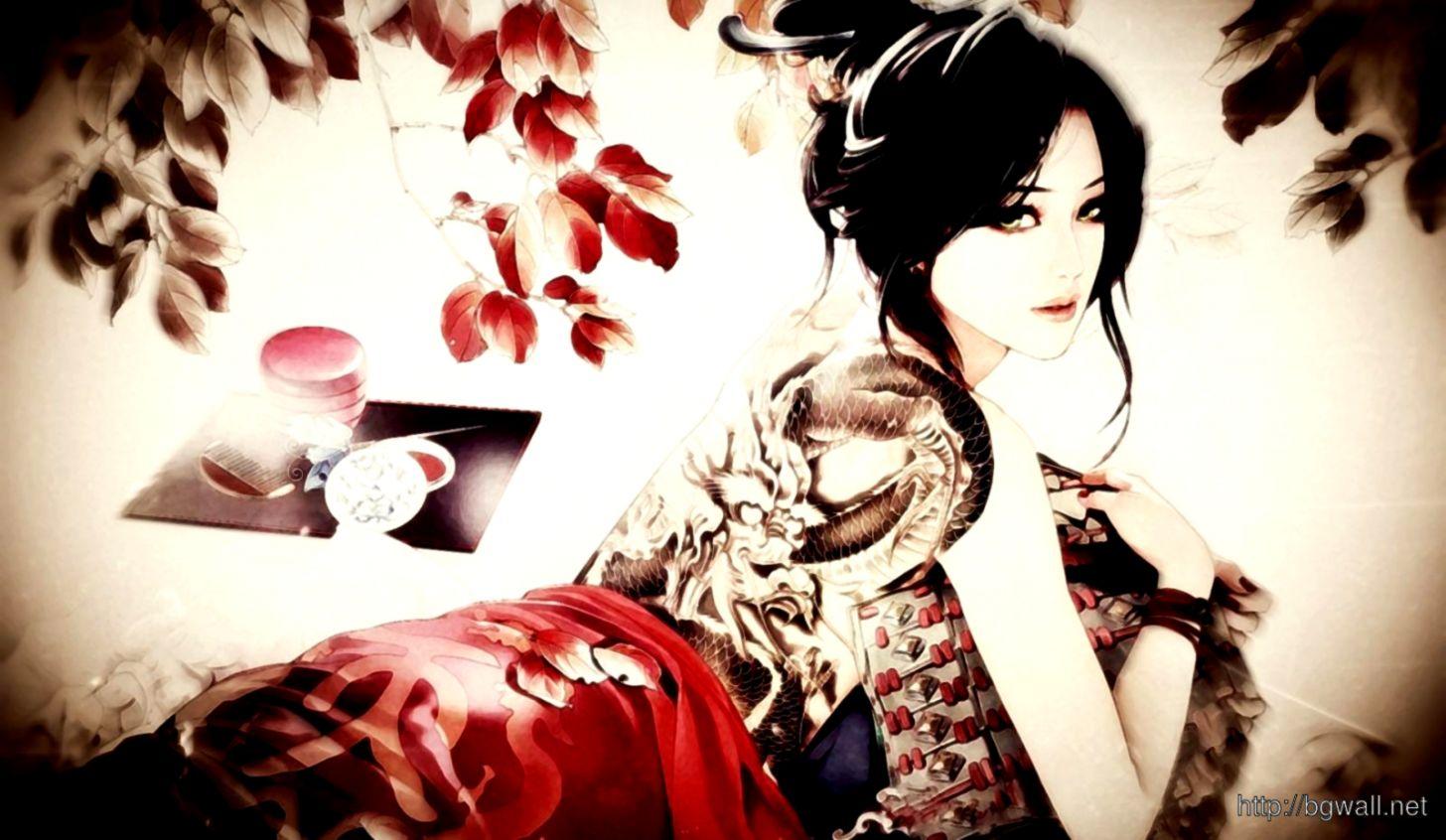 Japanese Model Wallpaper Hd