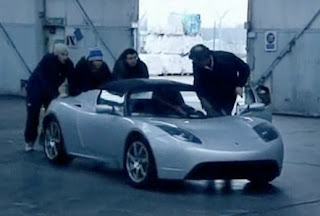Tesla Roadster, auto sportiva elettrica