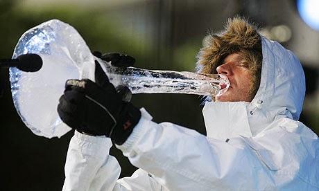 Terje Isungset ice saxophone