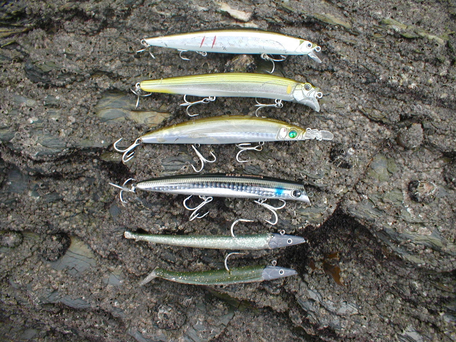 Cornish shore and kayak fisherman top sea bass lures for Bass fishing spinners
