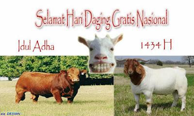 Selamat Hari Daging Gratis Nasional