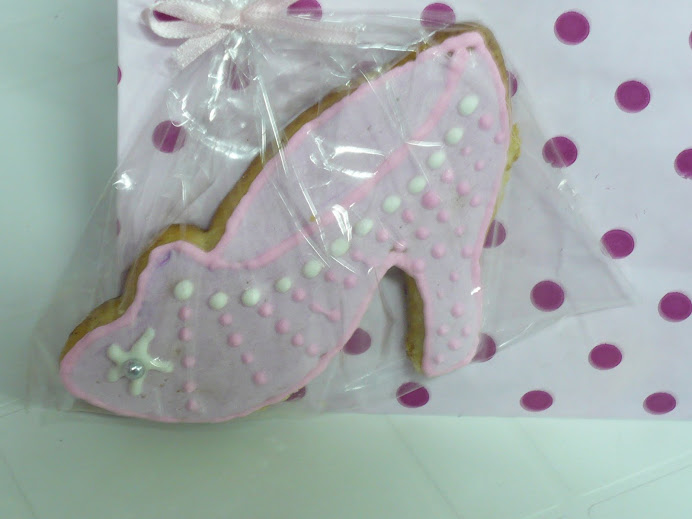 GALLETITAS ZAPATITOS DE CRISTAL