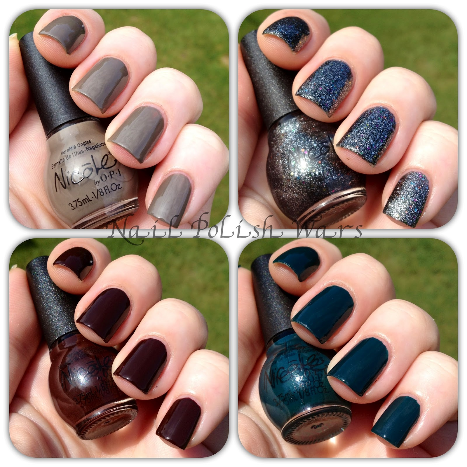 Nail Polish Wars: Nicole by OPI Sophisti-Cuties Kardashian Kolor ...