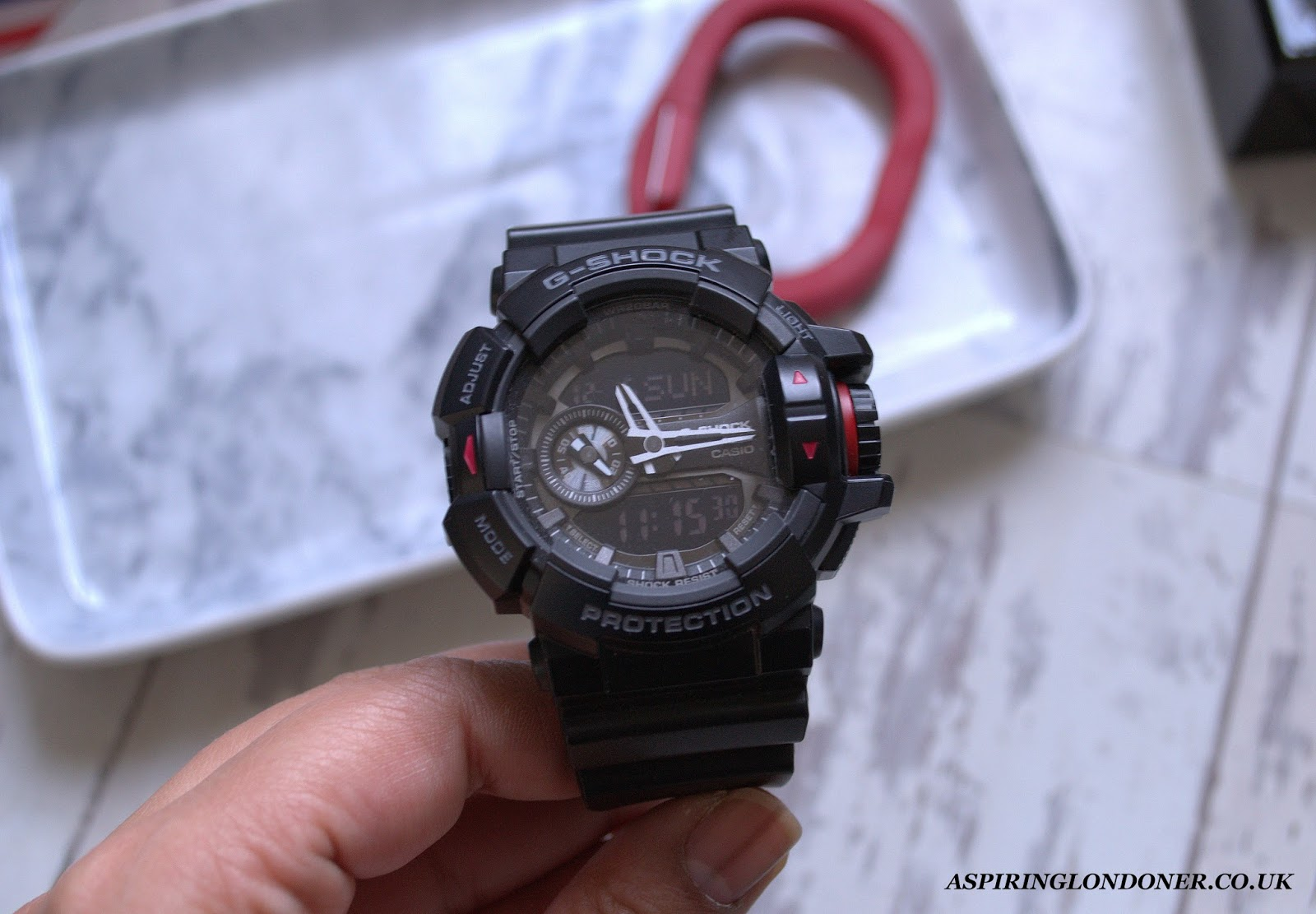 Casio G-Shock Chronograph Men's Watch Review - Aspiring Londoner