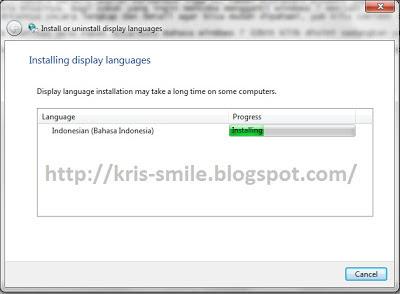 Cara Cepat ganti windows 7 dengan bahasa indonesia tanpa ribet