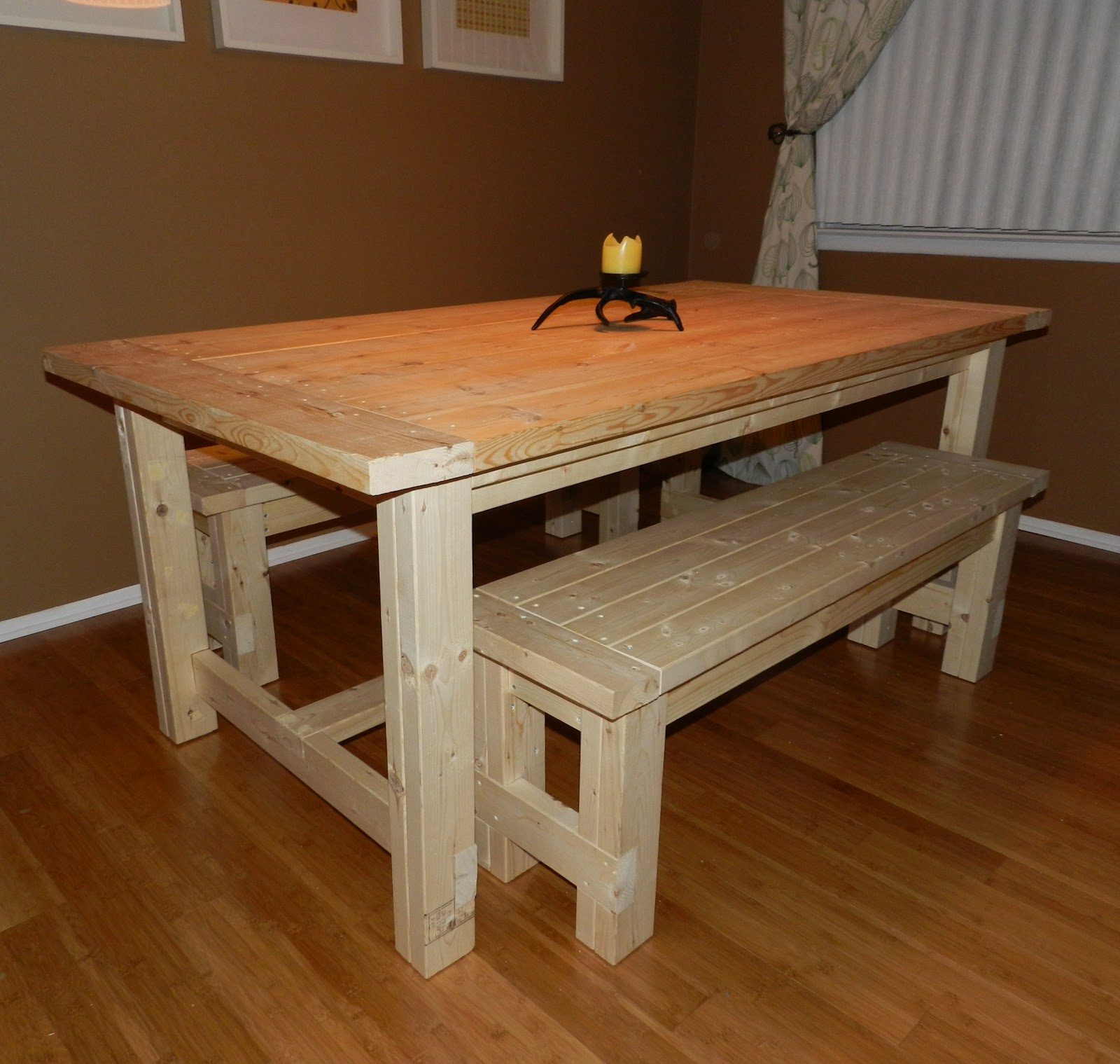 Diy projects diy dining table for Diy dining table
