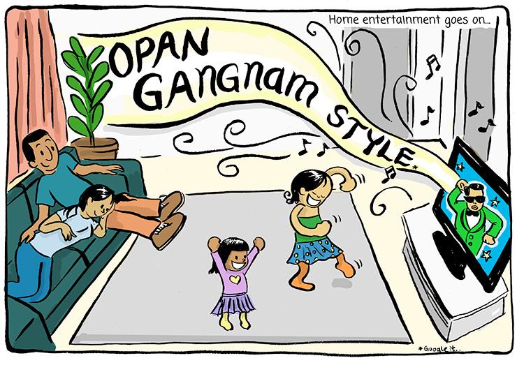 Opan gangnam style