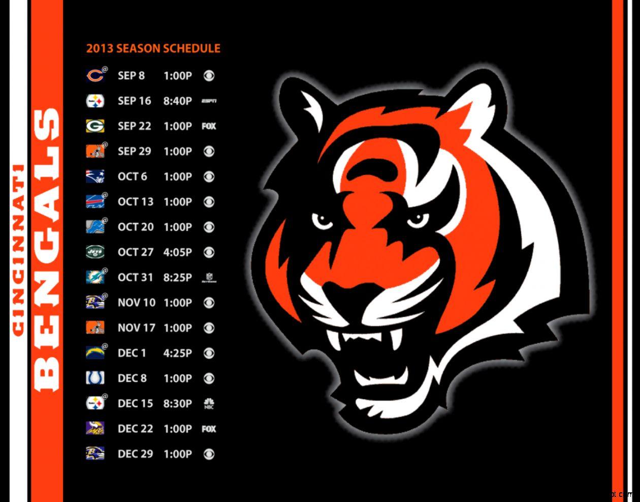 Desktop Wallpaper   Cincinnati Bengals