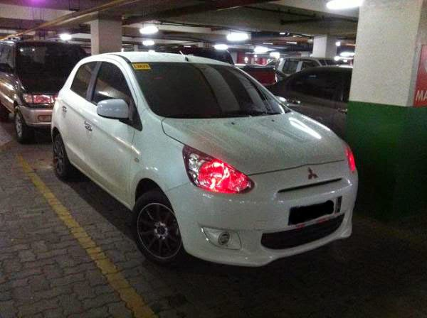 Modifikasi Mobil Mitsubishi Mirage GLX