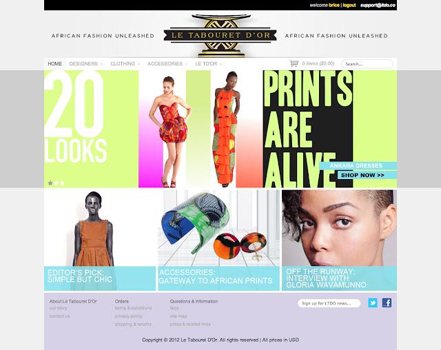 vakwetu style, Le Tabouret D'Or online shop, africa