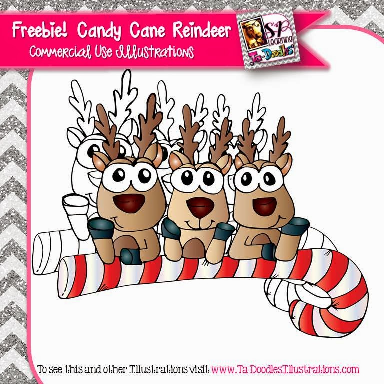 http://www.teacherspayteachers.com/Product/Candy-Cane-Reindeer-FREEBIE-1606490