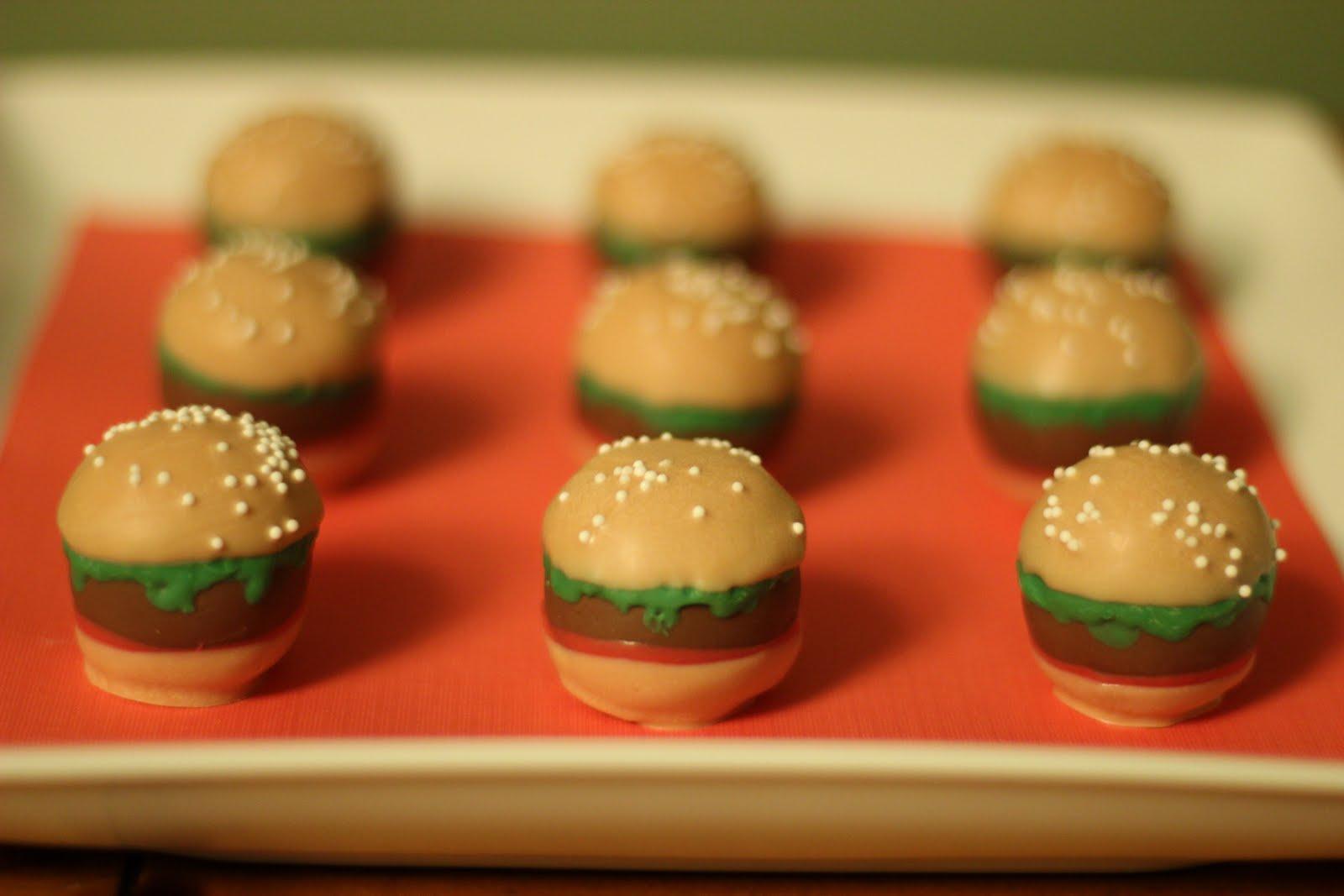 Cute, cute cake balls by yvette