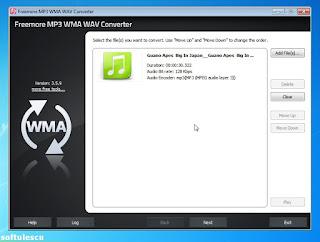 Freemore Audio Video Suite - Audio Converter