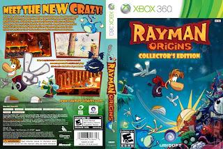 Capa Rayman Origins Xbox 360