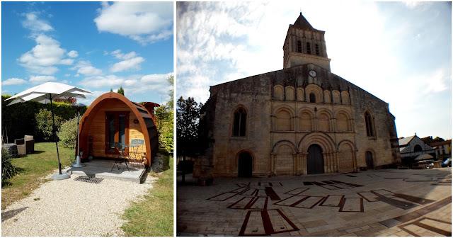 pod, domaine des vignères église, Jonzac, bullelodie