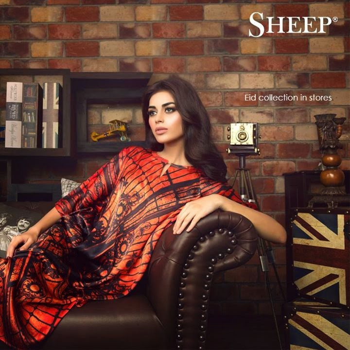 Sheep Eid collection 2014 featuring Sadaf Kanwal