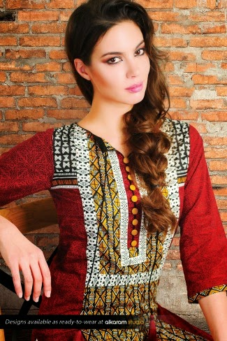 Alkaram Spring Lawn Collection Vol-1