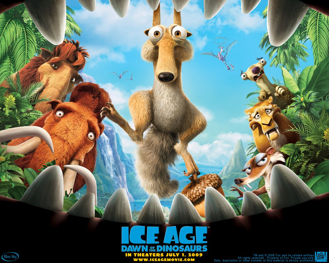 Gambar Ice Age