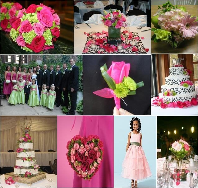 The best color combinations for summer weddings have for Summer wedding color combinations
