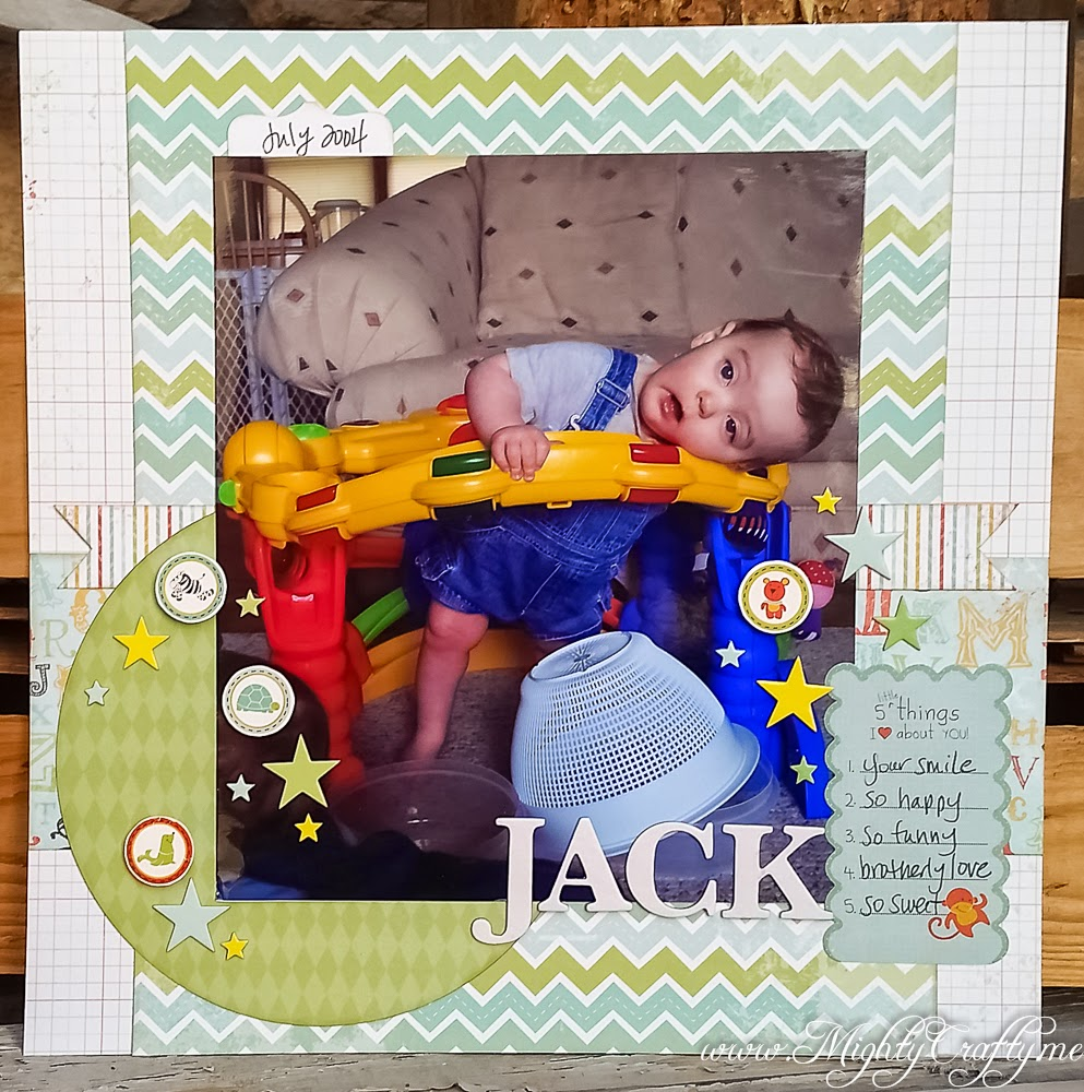 Jack layout for Sketch N Scrap Inspired By challenge #8 -- www.MightyCrafty.me