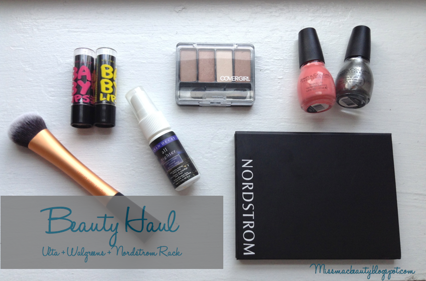 Ulta+Nordstroms Rack+Walgreens Beauty Haul!
