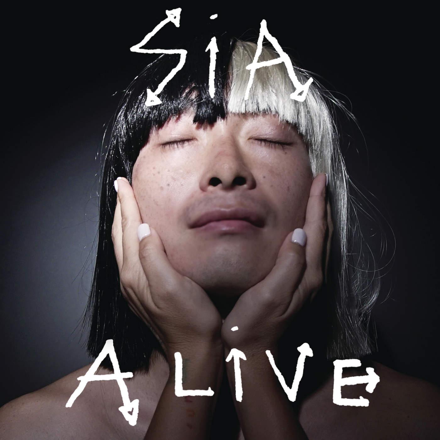 Sia - Alive - Single Cover