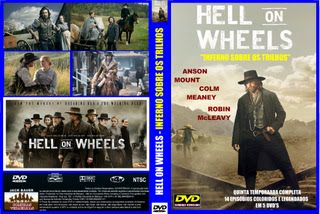 HELL ON WHEELS - INFERNO SOBRE OS TRILHOS - QUINTA TEMPORADA COMPLETA