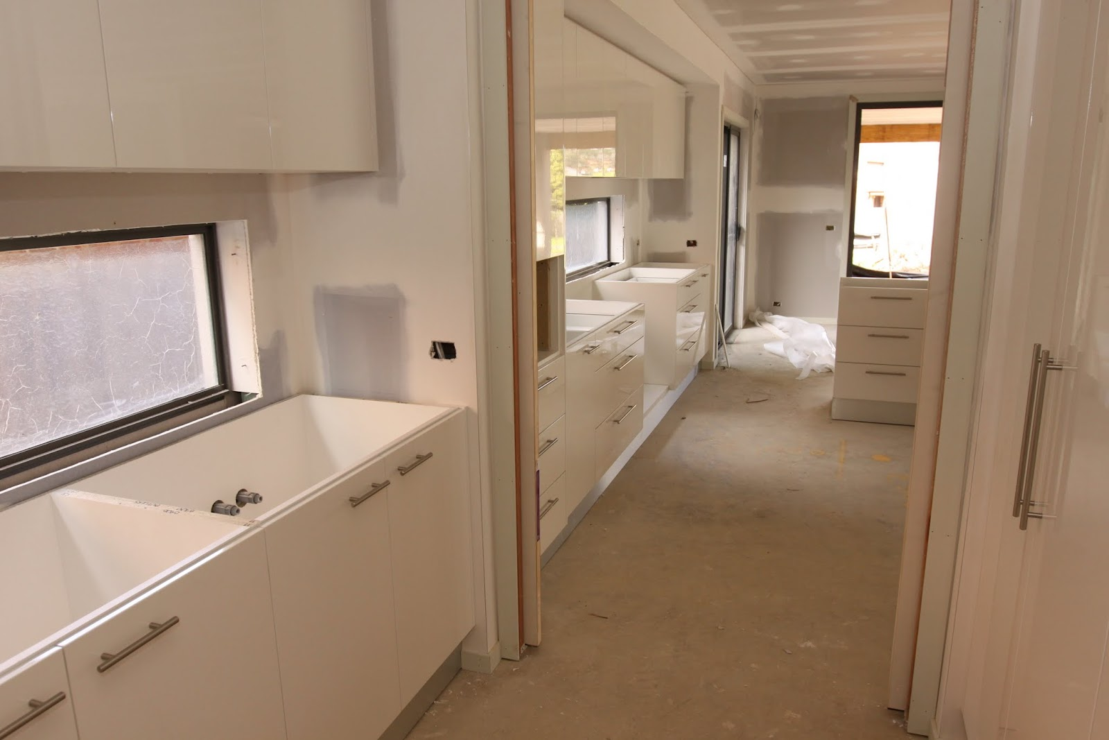 Our metricon nolan 41 journey kitchen and vanity cabinetry - Our Metricon Nolan 41 Journey Kitchen And Vanity Cabinetry Installation Started