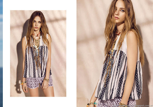 Blusas de moda 2016 Rapsodia. Moda primavera verano 2016.
