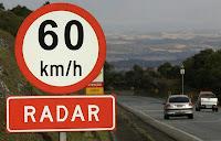 Aviso de radares não são mais obrigatórios