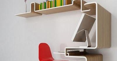 Escritorio para espacios reducidos sillas y escritorios - Escritorios para espacios pequenos ...