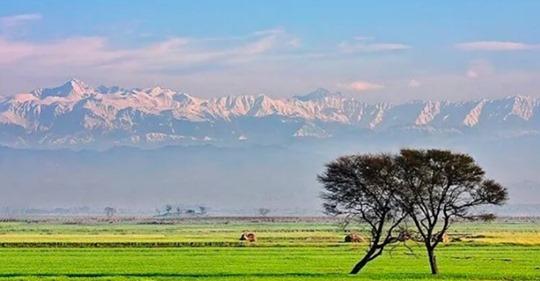 En Inde, l'Himalaya est visible à 200 km pour la première fois depuis 30 ans